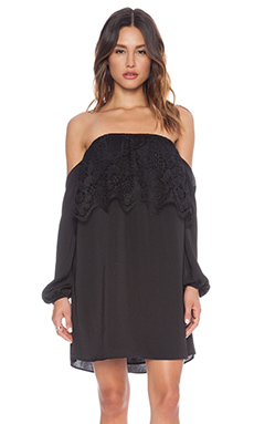 VAVA by Joy Han Nina Off Shoulder Dress in Black