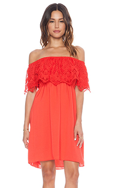 VAVA by Joy Han Nina Mini Dress in Dark Orange