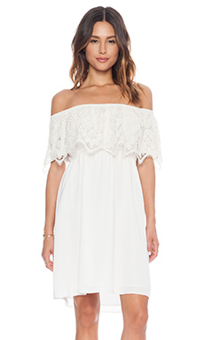 VAVA by Joy Han Nina Mini Dress in White
