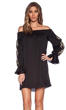 VAVA by Joy Han Dylan Off Shoulder Dress in Black