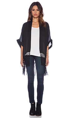 VAVA by Joy Han Tori Cardigan in Black