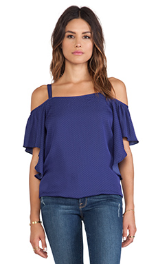 VAVA by Joy Han Becca Top in Navy