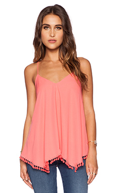 VAVA by Joy Han Dorothy Tank Top in Coral