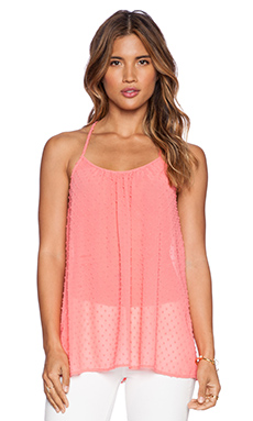 VAVA by Joy Han Josette Cami Top in Coral