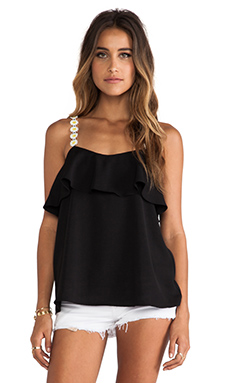 VAVA by Joy Han Winnie Tank in Black