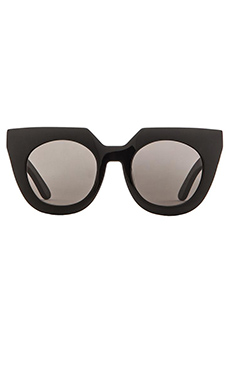 VALLEY EYEWEAR Spleen in Gloss Black & Black