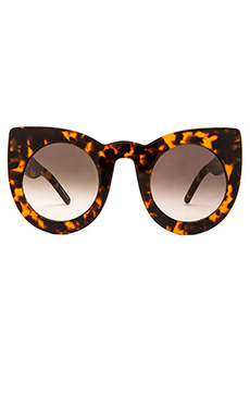 VALLEY EYEWEAR Wolves in Mid Tort & Brown Lens