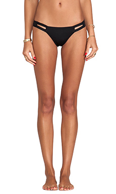 vitamin A Neutra Hipster Bottoms in Black Ecolux