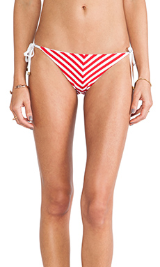 vitamin A Natalie Mitre Tie Side in Gigi Stripe