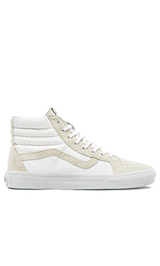 Vans CaliforniaSK8 Hi Reissue in True White