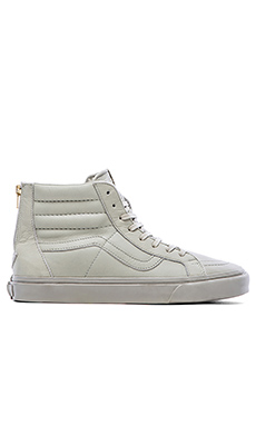 Vans California SK8 Hi Zip in Agate Grey