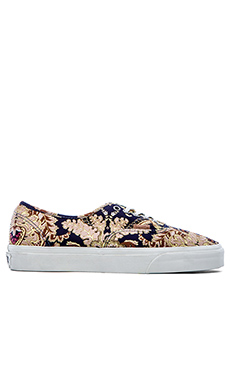 Vans California Authentic in Royal Paisley Dress Blues