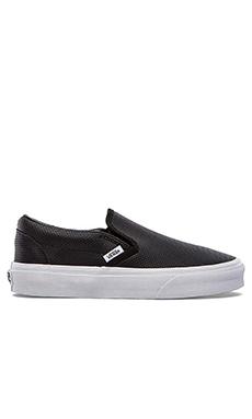 Vans Classic Slip-On Sneaker in Black
