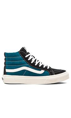 Vans SK8-Hi Slim Sneaker in Blue Coral