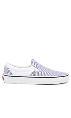 Vans Classic Deck Club Slip On Sneaker in True White
