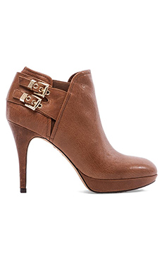 Vince Camuto Elaina Bootie in Golden Brown