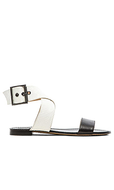 Vince Camuto Maren Sandal in New Ivory & Black