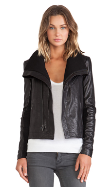 VEDA Maximum Jacket in Black