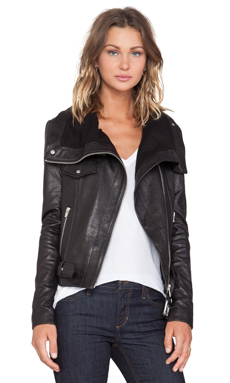 VEDA Mercer Jacket in Black