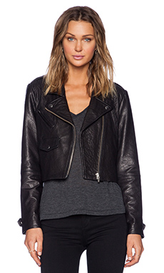 VEDA Punch Jacket in Black