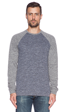 Velvet by Graham & Spencer Micah French Terry Pullover in Charcoal
