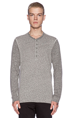 Velvet by Graham & Spencer Heritage Two Tone Jersey Aaron in Heather Grey