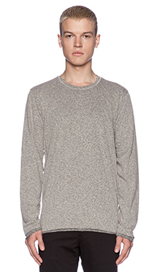 Velvet by Graham & Spencer Heritage Two Tone Jersey Halston in Heather Grey