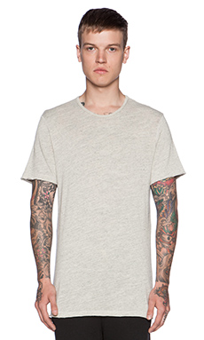 Velvet by Graham & Spencer Tobin Heather Jersey Tee in Oat