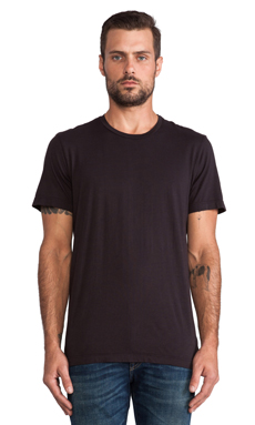 Velvet by Graham & Spencer Howard Tee in Exhuast