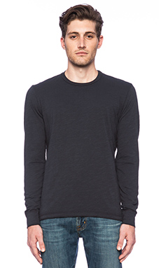 Velvet by Graham & Spencer Harding Basic Tee in Barracuda