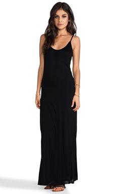 Velvet by Graham & Spencer Vixen New Fine Slinky Tank Dress in Black