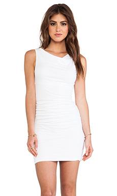 Velvet by Graham & Spencer Gauzy Ethel Whisper Novelty Dress in White