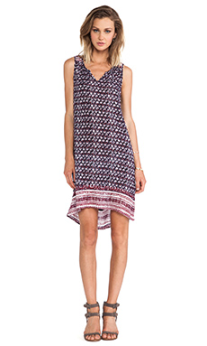 Velvet by Graham & Spencer Aberisa Seville Gauze Dress in Multi