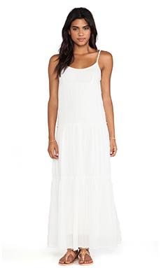 Velvet by Graham & Spencer Delize Sheer Jersey Dress in Coconut