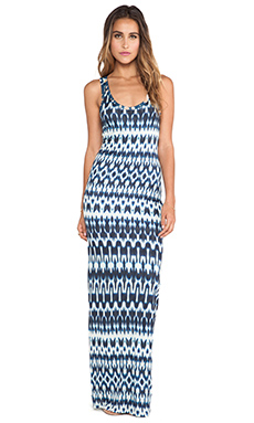 Velvet by Graham & Spencer Antoinette Summer Ikat Maxi in Multu