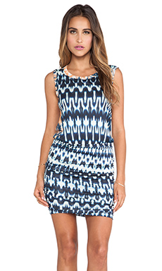 Velvet by Graham & Spencer Brianna Summer Ikat Dress in Multi