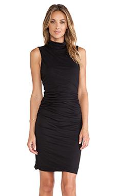 Velvet by Graham & Spencer Alanna Turtleneck Dress in Black