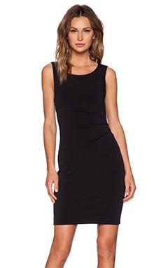 Velvet by Graham & Spencer Stretch Jersey Maxx Dress in Black