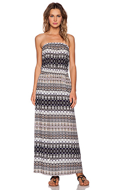 Velvet by Graham & Spencer Bengal Challis Philippa Maxi Dress in Multi