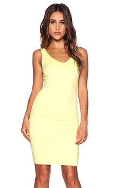 Velvet by Graham & Spencer Gauzy Whisper Rocco Dress in Canary