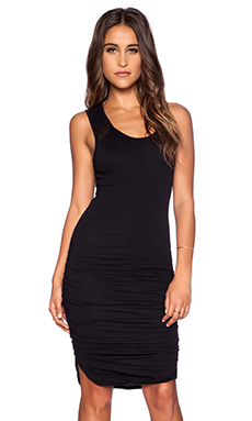 Velvet by Graham & Spencer Gauzy Whisper Samira Dress in Black