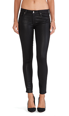 Velvet by Graham & Spencer Toni Skinny Jean in Black Diamond
