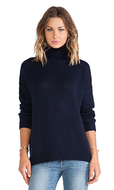 Velvet by Graham & Spencer Jenay Boyfriend Turtleneck Sweater