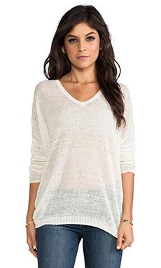 Lily Aldridge for Velvet Josie Sweater in Milk