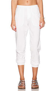 Velvet by Graham & Spencer Active Jacklyn Pant in White