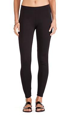 Velvet by Graham & Spencer Jillette Ponti Basic Leggings in Black