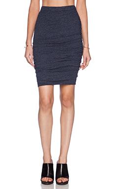 Velvet by Graham & Spencer Soft Textured Knit Larsa Skirt in Splash