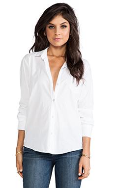 Velvet by Graham & Spencer Judd Cotton Voile Shirting in White