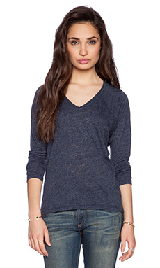 Velvet by Graham & Spencer Soft Texture Knit Topaz Top in Splash