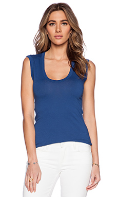 Velvet by Graham & Spencer Gauzy Whisper Classics Estina Tank in Citadel